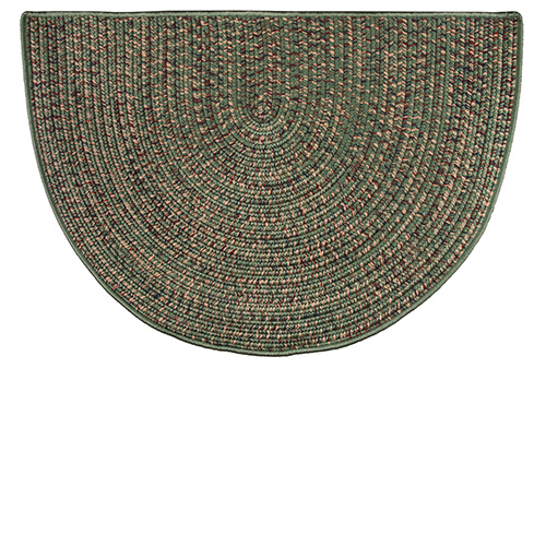 Goods of the Woods Green Braided Polyester Half Round ...