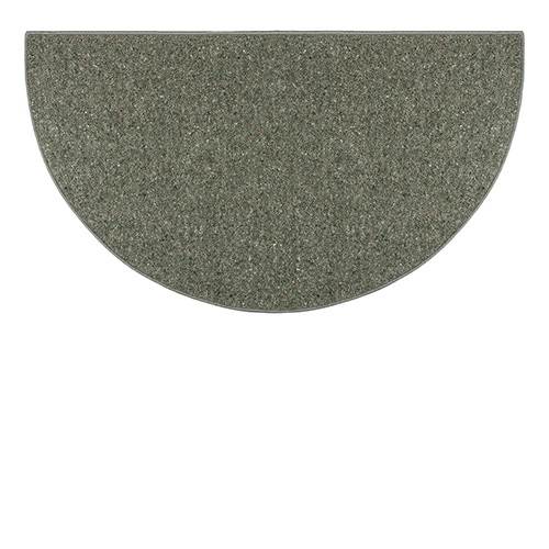 Goods Of The Woods Sage Green Ember Half Round Wool Hearth