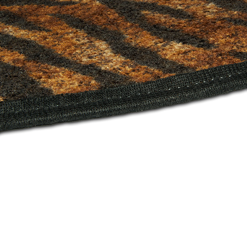 Tiger Rug Doing Goods: Goods Of The Woods Tiger Safari Half Round Hearth Rug
