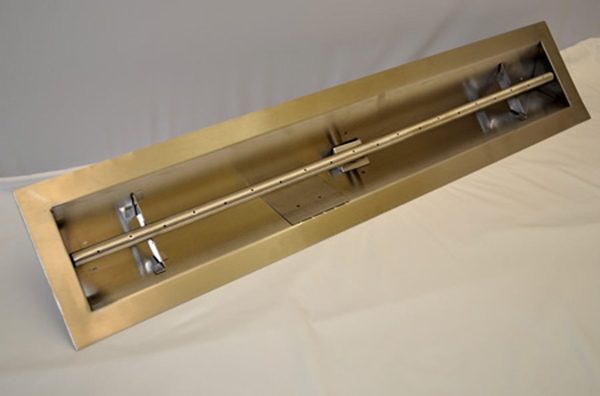 Hearth Products Controls 48 Inch Stainless Steel Match Lit