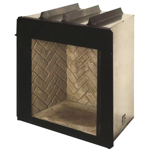 Heatmaster Big Mouth 36 Inch Floor Level Vent Free Firebox