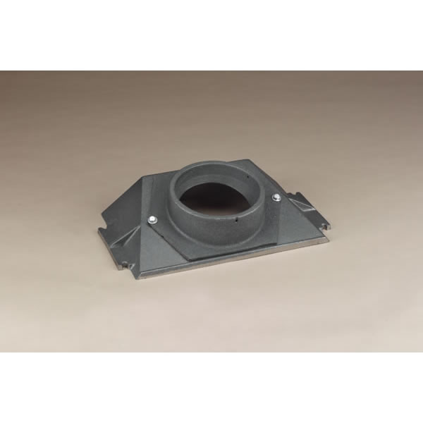 Homesaver Cast Iron Insert Boot For 8 Inch Chimney Liner