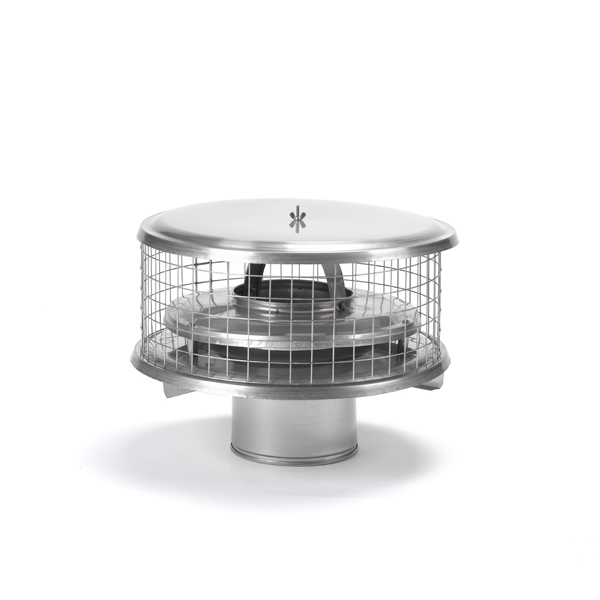 Homesaver Pro 10 Inch Round Chimney Cap For Air Insulated