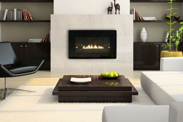 Empire Loft Vent Free Zero Clearance Gas Fireplace With