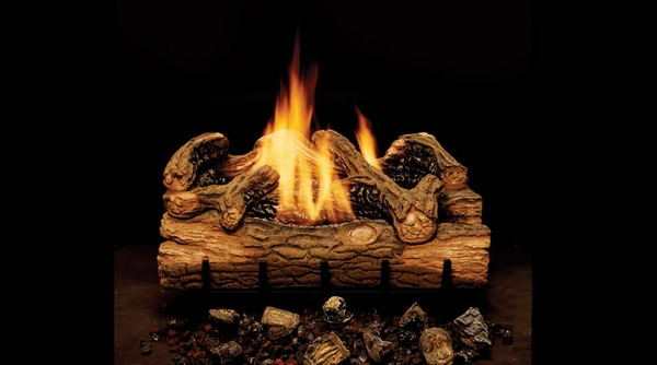 gas logs ventless gas logs majestic 18 charred hickory ventle