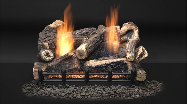 majestic 18 kentucky wildwood ventless propane gas log