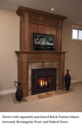 CORNER SERIES GAS FIREPLACES - HEAT-N-GLO