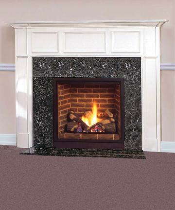 vent gas fireplace with signature command controls natural gas