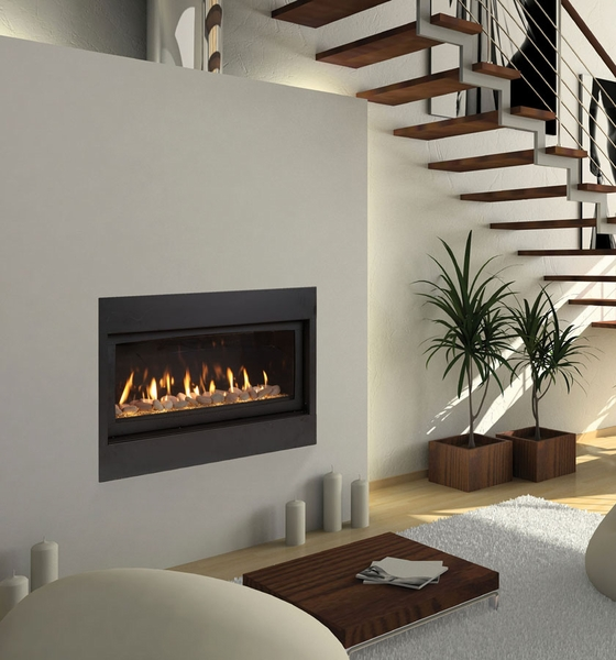 """Majestic 42"""" Echelon Wide View Direct Vent Gas Fireplace ..."""