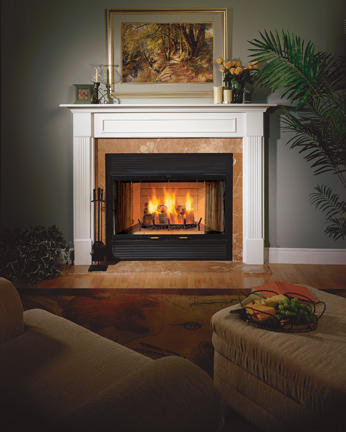 Majestic 42 Inch Sovereign Circulating Wood Burning Fireplace