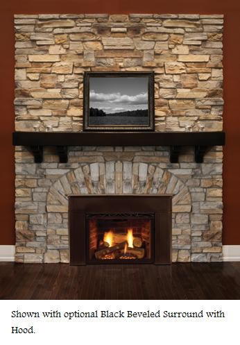 majestic topaz 20ildv direct vent gas fireplace insert propane gas