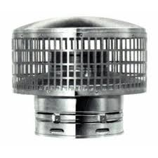 Metal Fab Type B Round Chimney Vent Cap For 7 Inch