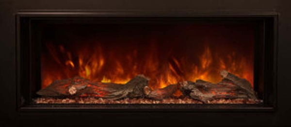 Modern Flames ZCR Series Electric Fireplace Insert with Trim - ZCR-3824 - Flames ZCR Series Electric Fireplace Insert With Trim - ZCR-3824