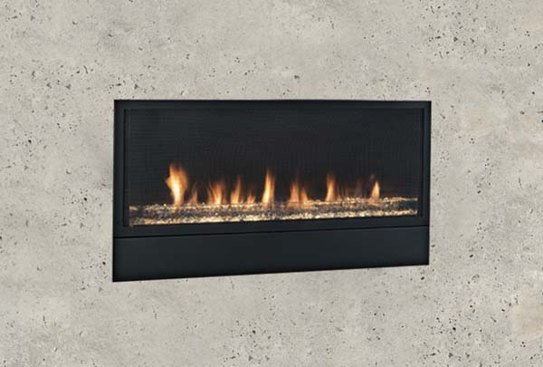 Monessen Artisan Linear Vent Free Fireplace With Signature