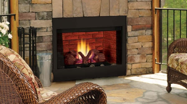 monessen bbv slim line radiant b vent natural gas fireplace with