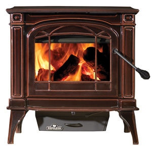 Stoves: Cast Iron Wood Burning Stove