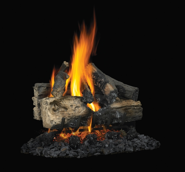 Napoleon 22 Reversible Vented Propane Gas Log Set With Electronic Ignit