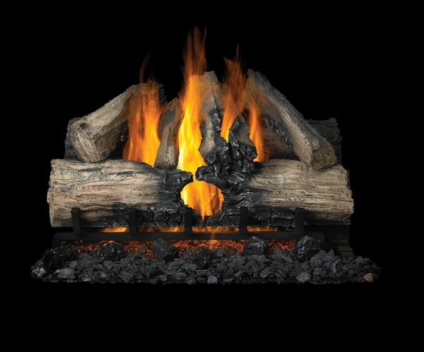 Natural Gas Vented Fireplace Logs 600 x 498