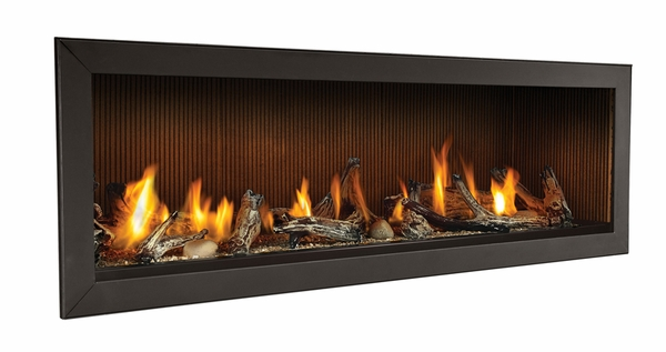 """Napoleon 62"""" Linear Direct Vent Natural Gas Fireplace ..."""