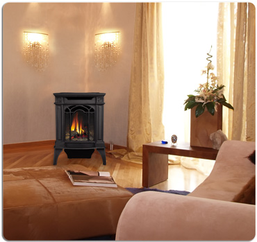 types of gas fireplace venting