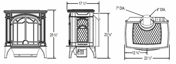 Image Result For Mobile Home Approved Wood Stove