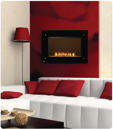 Napoleon EF39HD Wall Mount Electric Fireplace with Heater
