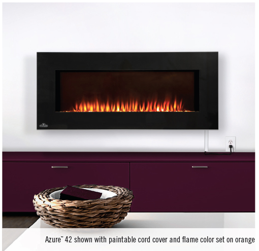 Napoleon Efl42h Azure Built In Wall Mount Electric