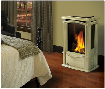 Napoleon Gds26nsb Castlemore Direct Vent Cast Iron Gas Stove