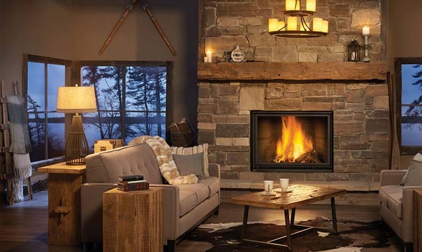 Napoleon High Country Low Mass Wood Burning Fireplace Nz8000