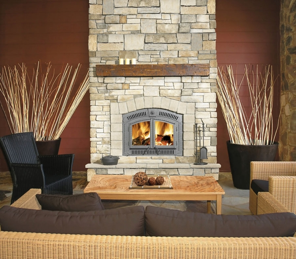 Napoleon High Country NZ3000H Wood Burning Fireplace - High Country NZ3000H Wood Burning Fireplace