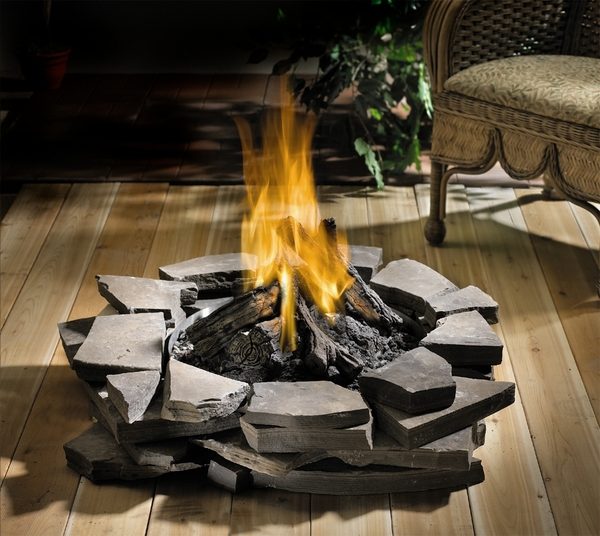 Napoleon Patioflame Stainless Steel Outdoor Firepit