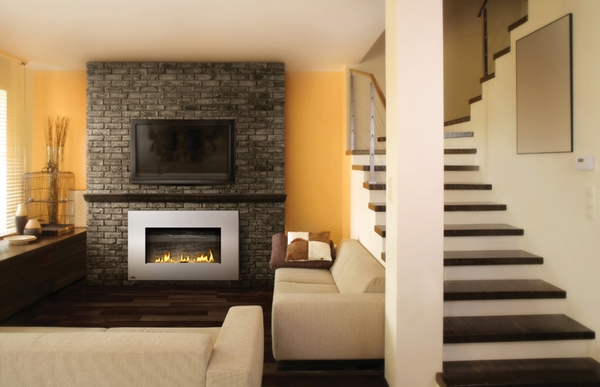 50 Inch Recessed Electric Fireplace