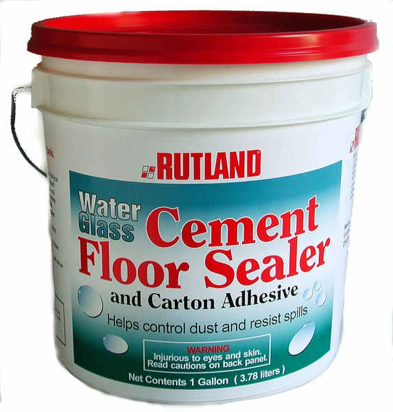 One Gallon Of Water Glass Adhesive And Concrete Sealer