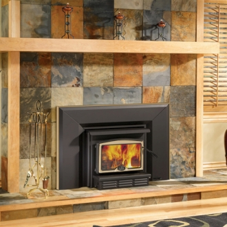 osburn 2200 high efficiency epa bay window woodburning. drolet ...