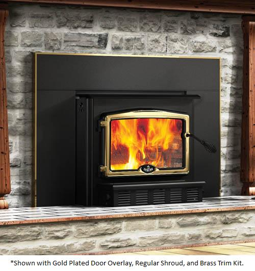 High Efficiency Wood Burning Fireplace Inserts With Blower