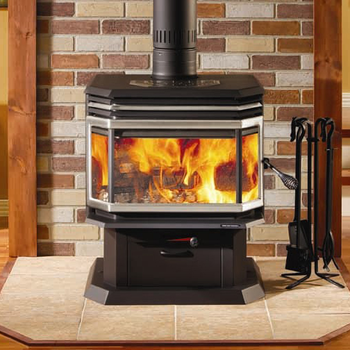 stoves osburn 2200 high efficiency epa bay window woodburning stove