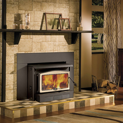 Osburn 2400 High Efficiency EPA Woodburning Insert with Blower - 2400 High Efficiency EPA Woodburning Insert With Blower