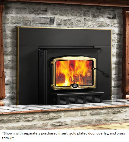 osburn regular fireplace insert shroud for osburn 2000