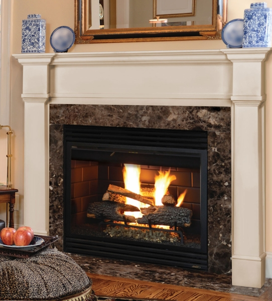 Mdf Fire Surrounds: Pearl Mantels 550 Richmond MDF Fireplace Mantel In White