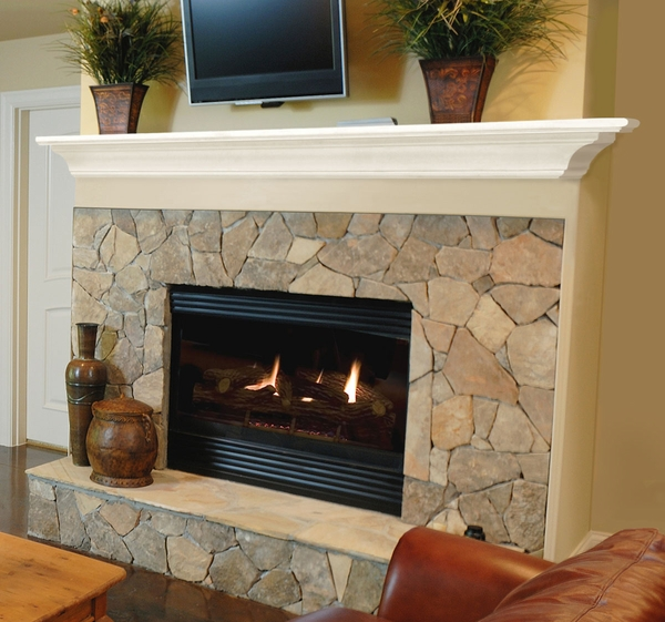 mantel shelves pearl mantels 618 crestwood mdf fireplace mantel shelf ...