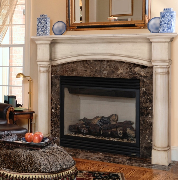 Pearl Mantels 159 48 Princeton 48 Fireplace Mantel Surround