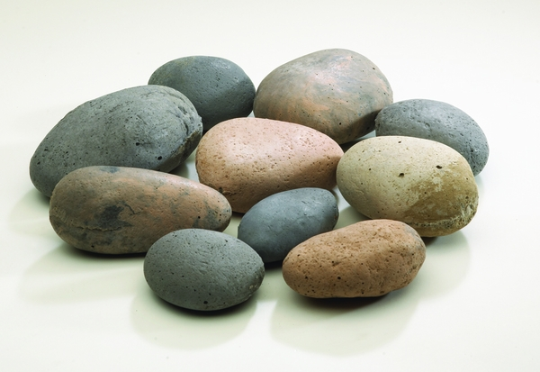 Peterson Real Fyre River Rock Fyre Stones Geo Shapes