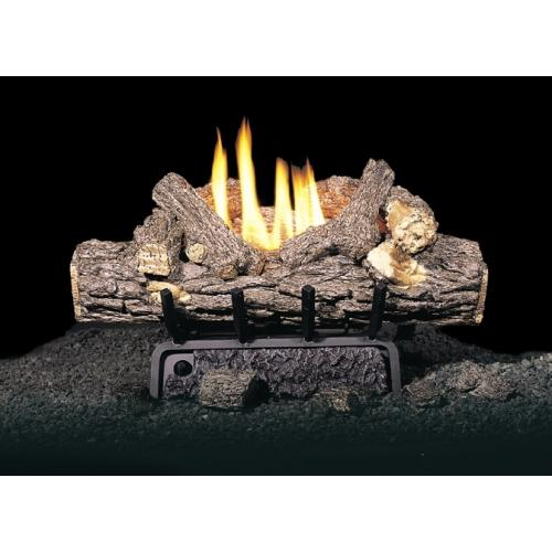 Real Fyre 20 Valley Oak Ventless Natural Gas Logs Set