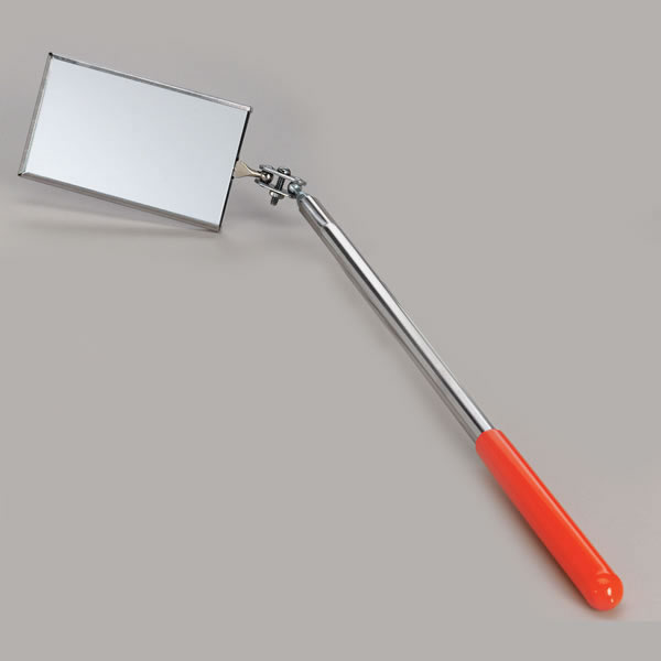 Rectangular Chimney Inspection Mirror With Handle