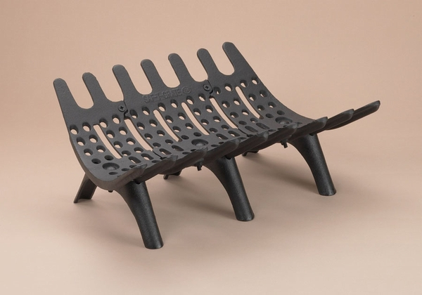 Cast Iron Fireplace Grate - T-Grate 22 5/8 In. Cast Iron Fireplace Grate