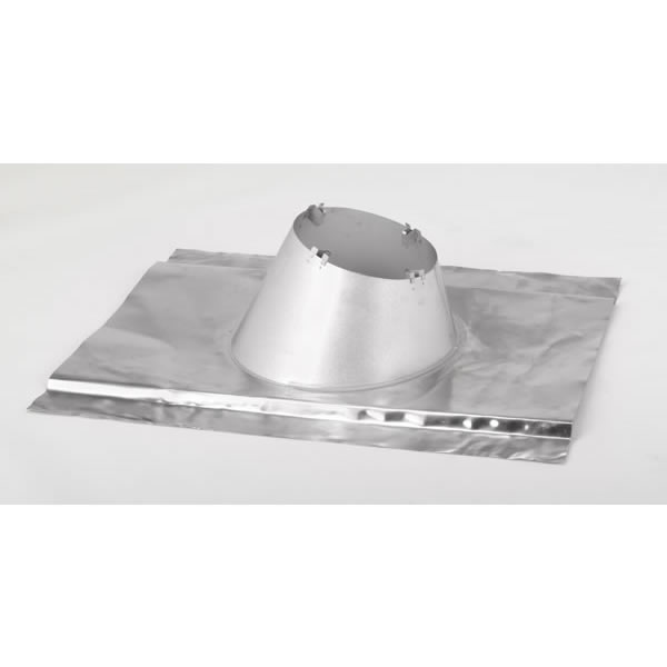 Secure Temp All Fuel Chimney Metal Roof Flashing With