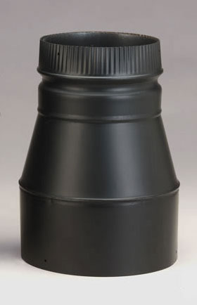 Selkirk Dsp Double Wall Black 8 Inch To 6 Inch Stovepipe