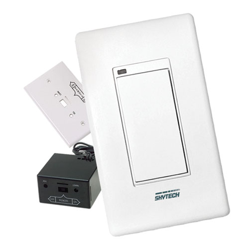 Skytech 1001d Wireless Wall Mounted Remote Control System