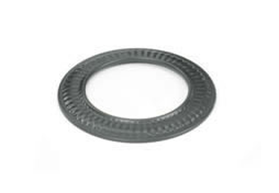 Snap Lock Black Steel Stovepipe Trim Collar For Pipes