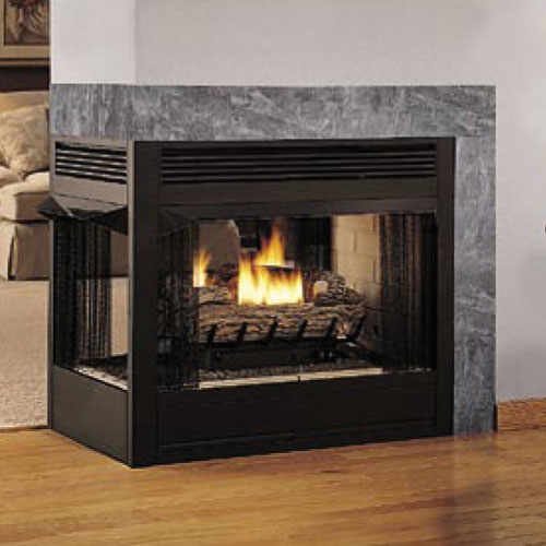 Superior 36 Quot Peninsula 3 Sided Firebox Vrt43pfws